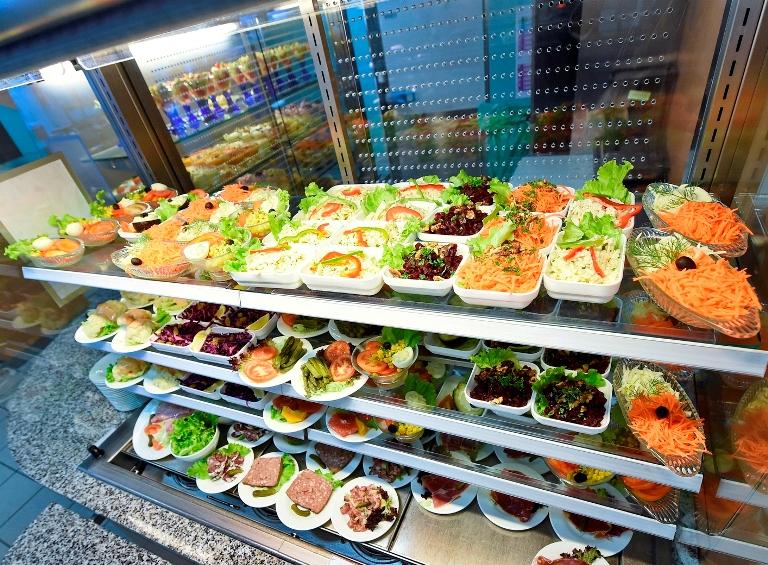Présentation des entrées Restaurant AGRAF Sully - photo PVedrune